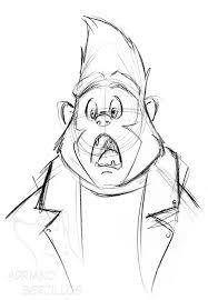 johnny quick sketch by corgi fur affinity dot net