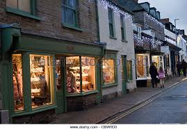 Christmas Decorations Shops In Uk by Christmas Decorations In Shop Window Clothes Stock Photos