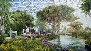indoor gardens design ideas luxury indoor garden in changi airport