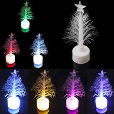 fiber optic light tree colorful led fiber optic nightlight christmas tree l light