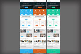 corporate business email template flyer templates creative market