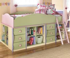 Doll House Bunk Beds Doll House Loft Bed With Shelf Storage And Loft Drawer Storage By