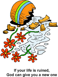 Clipart Vase Of Flowers Image Broken Flower Vase If Your Life Is Ruined God Can Give