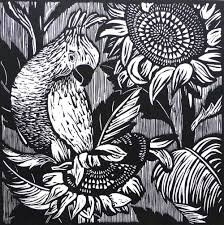 black and white linocuts u2014 lucy timbrell