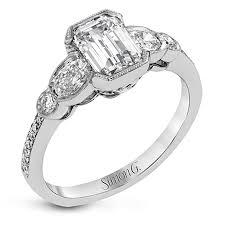 simon g engagement rings simon g duchess collection engagement ring setting