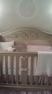 silver u0026 pink nursery project nursery