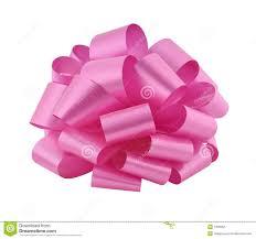 big ribbon big pink ribbon bow cutout stock photo image of ribbon 7338382