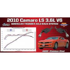 2010 2015 camaro exhaust system flowmaster v6 american thunder