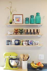 wall shelving inspiration for a small kitchen homey homey club