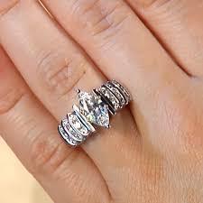 girl wedding rings images Engagement rings multi stone show girl engagement ring jpg