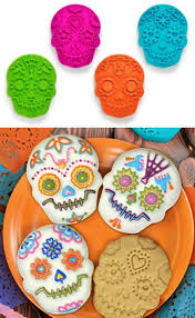 mardi gras cookie cutters sugar skull mardi gras cookie cutter set gogetglam