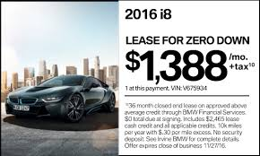 bmw financial payment 2016 bmw i8 0 1388 per month possibly less