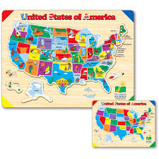 50 States Map With Capitals by Amazon Com The Learning Journey Lift U0026 Learn Usa Map Puzzle Toys