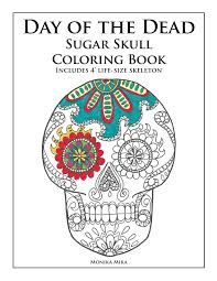 day of the dead sugar skull coloring book lucid publishing