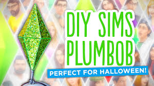 plumbob headband diy sims diamond plumbob easy costume