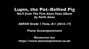 lupin the pot bellied pig piano accompaniment youtube