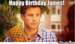 Psych Meme - happy birthday james aka shawn from psych by sailorsaturn meme