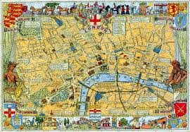 Map Of Nd Map Of London Large Piece Wooden Jigsaw Puzzle Liberty Puzzles