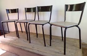 Esszimmerst Le Preis Industrielle Mullca 510 Stühle 1960er 4er Set Bei Pamono Kaufen