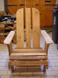 siege en palette fauteuil adirondack récup way of