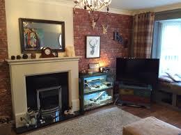 industrial look living room masculine living room tartan and