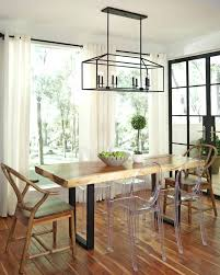 kitchen table light fixture dining room table lighting best dining room lighting ideas on