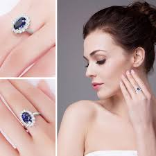 ring diana princess diana inspired 3 2ct sapphire s925 ring september