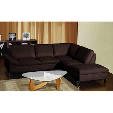 small brown sectional sofa leather sectional sofa with chaise contemporary for small living