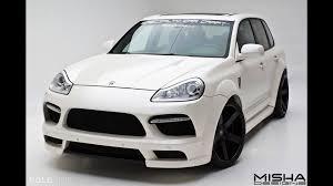 Porsche Cayenne Body Kit - misha designs porsche cayenne wide body kit