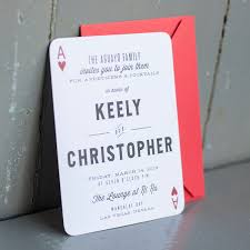 Wedding Card Invitation Online Playing Card Invitations Festival Tech Com