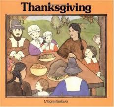 thanksgiving book by miriam nerlove