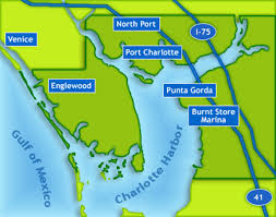 punta gorda fl map estate in punta gorda and port county