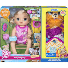 baby alive baby go bye bye blonde exclusive value bundle