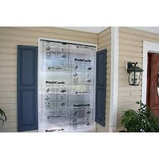 Polycarbonate Porch by Shop Hurriguard 48 In X 72 In Clear Polycarbonate Hurricane Panels