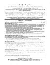 Office Manager Sample Resume Liquor Store Manager Resume The Best Resume
