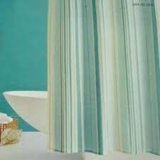 stripe fabric shower curtain foter