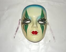 mardi gras wall masks mardi gras porcelain masks wall handmade madigras ceramic wall