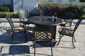 Firepit Set St Augustine 7 Dining Set 6 Dining Chairs 1 Dining
