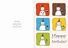 humorous birthday cards free printable humorous birthday cards birthday card template