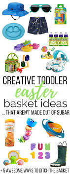 ideas for easter baskets for toddlers creative toddler easter basket ideas coffee and coos