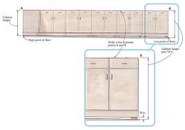 kitchen cabinet height cabinets in a bad kitchen homebuilding