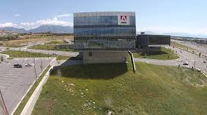 adobe u0027s lehi ut offices view from a drone youtube