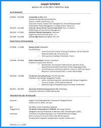 Lebenslauf Vorlage Usa 7 Englischer Lebenslauf Business Template