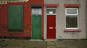 red doors mark out asylum seekers u0027 houses in english town