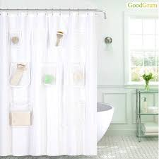 Machine Washable Shower Curtain Liner Fabric Shower Curtain Liners