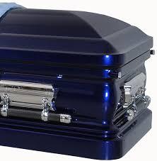 blue casket 8213 18 cobalt blue casket with light blue velvet