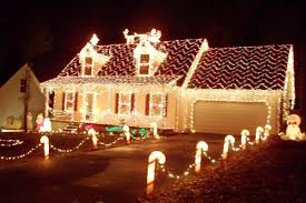 Red And White Christmas Lights Christmas Lights Outdoor Ideas Sacharoff Decoration