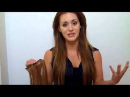 tressmatch hair extensions euronext hair extensions review chestnut brown 6 youtube