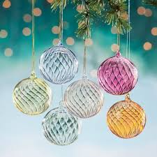 hand blown venetian glass christmas ornaments uno alla volta