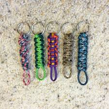 make key rings images 20 diy paracord keychains with instructions guide patterns jpg